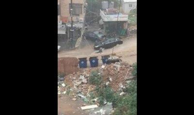 بالفيديو: جرفتها السيول في بيروت