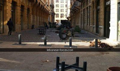 """بالصور: بيروت تستفيق على """"ساحات حرب"""""""
