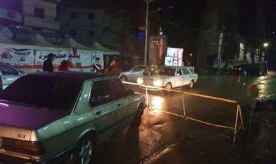 بالصورة: قطع طريق حلبا