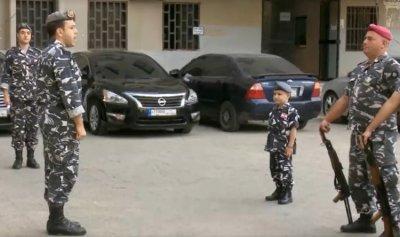 """بالفيديو: وفاة أصغر """"مناضل"""" في قوى الأمن"""