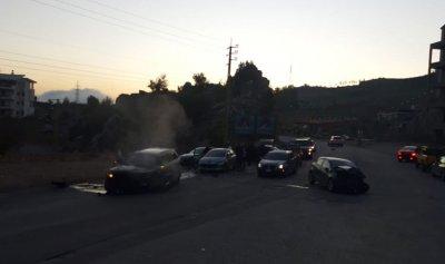 بالصورة: قتيل وجريحان بحادث سير في وطى الجوز