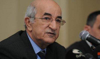 عبد المجيد تبون رئيساً للجزائر