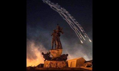 """بالفيديو والصور: كيف بدت بيروت بعد """"ليلة مشتعلة""""؟"""