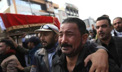 بالفيديو: تظاهرات غاضبة في العراق تحمل السلطة مسؤولية قتل الثوار