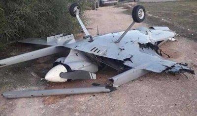 الجيش الليبي يسقط طائرة مسيرة  تركية في طرابلس