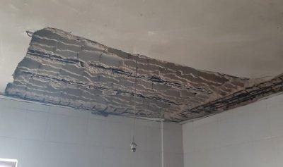 نجاة عائلة من انهيار سقف في المحمرة عكار