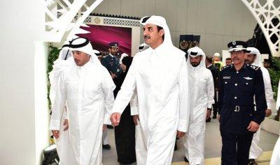 وصول الوفد القطري الى الرياض