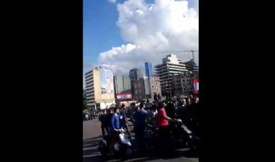 """بالفيديو: """"لبيك نصرالله"""" على جسر الرينغ"""