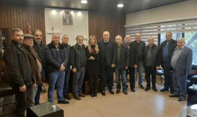انتخاب غسان طيون نائبا لرئيس اتحاد بلديات زغرتا