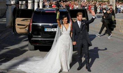 اصدقاء راموس لم يحضروا زفافه