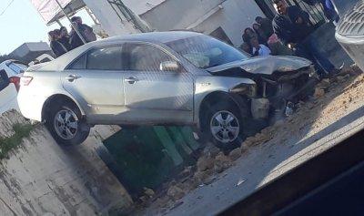 بالصور: حادث سير في طبرجا