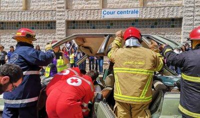 بالصور: حملة نموذجية لنادي السلامة المرورية في الفنار