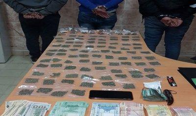 توقيف مروجي مخدرات في بئر حسن