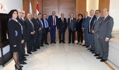 رئيس جمعية المصارف كرّم المجلس الجديد لنقابة محرري الصحافة