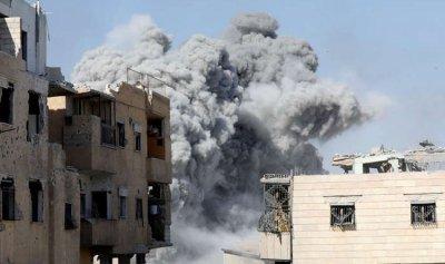 بالفيديو والصور: قتلى وجرحى بانفجارين في إدلب