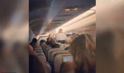 بالفيديو: ولادة داخل طائرة
