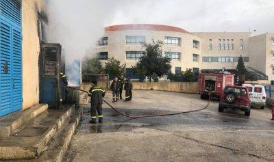 بالصور: حريق مولدين في زحلة