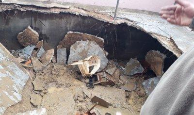 13 جريحاً بانهيار سقف في الهرمل