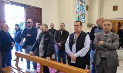 بالصور: واكيم يزور الكنائس السبع في الاشرفية