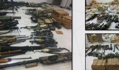 اسلحة ايرانية مع القاعدة