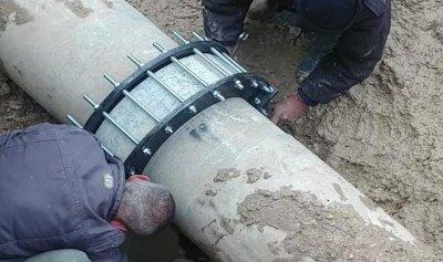 إصلاح الاعطال في مشروع ري صيدا جزين