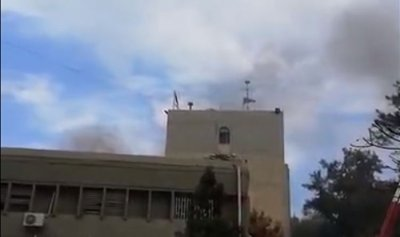 إشكال وحريق في سجن القبة