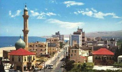 طريق مسجد الزعتري في صيدا مقطوعة