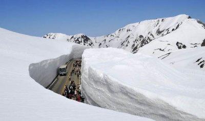 4 امتار من الثلوج في عكار