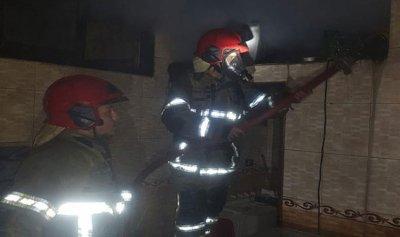 حريق داخل شقة سكنية في صور