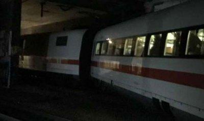 انحراف قطار ألماني عن مساره
