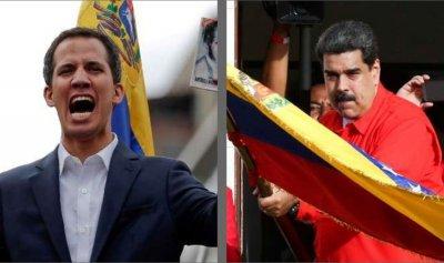 مبارزة موسيقية بين معسكري مادورو وغوايدو