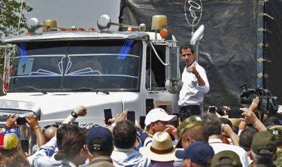 المساعدات الأميركية دخلت فنزويلا