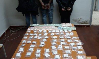 توقيف مروجي مخدرات في نهر الموت