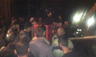 اصابة موظف في كهرباء لبنان بانفجار محوّل زيت
