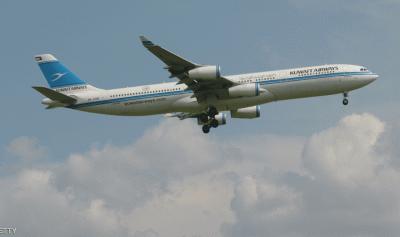 تعرض طائرة كويتية لحادث في فرنسا