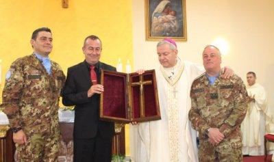 يونيفيل دشنت كنيسة السيدة والقديس البابا يوحنا 23