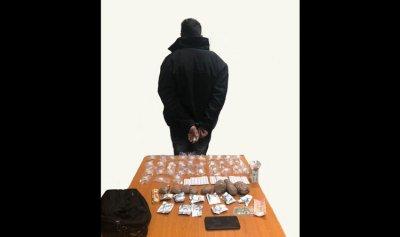 توقيف مروج مخدرات في حي السلم