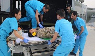 افتتاح مهبط طوافات في مستشفى الجعيتاوي
