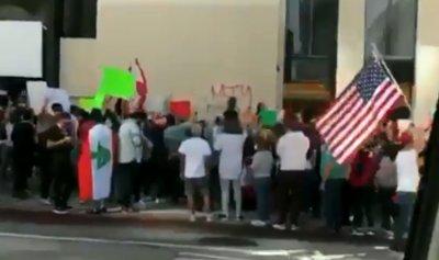بالفيديو: لبنانيو لوس انجلس ينتفضون