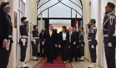 بالصور: جولة بومبيو على سياسيي لبنان