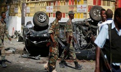 15 قتيلا بهجوم على وزارتين في الصومال
