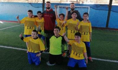 بطولة القدم المدرسية في عكار للمدرسة الأرثوذكسية الشيخ طابا