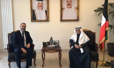 الهندي بحث والسفير الكويتي آخر المستجدات في لبنان