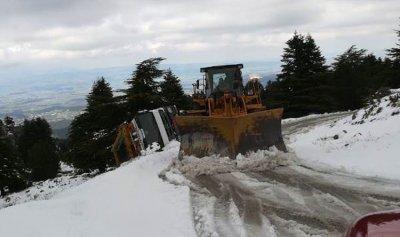 إزالة الثلوج عن طريق القبيات فنيدق