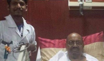ما حقيقة صورة البشير في المستشفى؟
