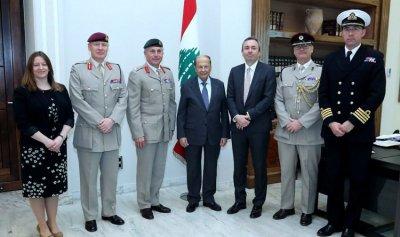 عون: لبنان ملتزم تطبيق القرار 1701