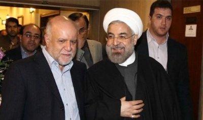 طهران تتخبط… عراك بين روحاني ووزير النفط