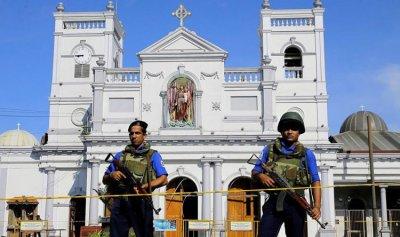 أول فيديو لعملية تفجير كنيسة سريلانكا