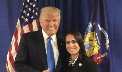 ترمب عيّن ستيفاني غريشام متحدثة باسم البيت الأبيض