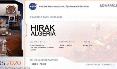 """""""حراك الجزائر""""… مركبة فضائية إلى المريخ"""